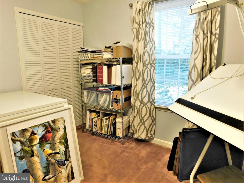 BEDROOM 3: WALL CLOSET; WOOD BLINDS/DRAPES CONVEY - 333 CARDINAL GLEN CIR, STERLING