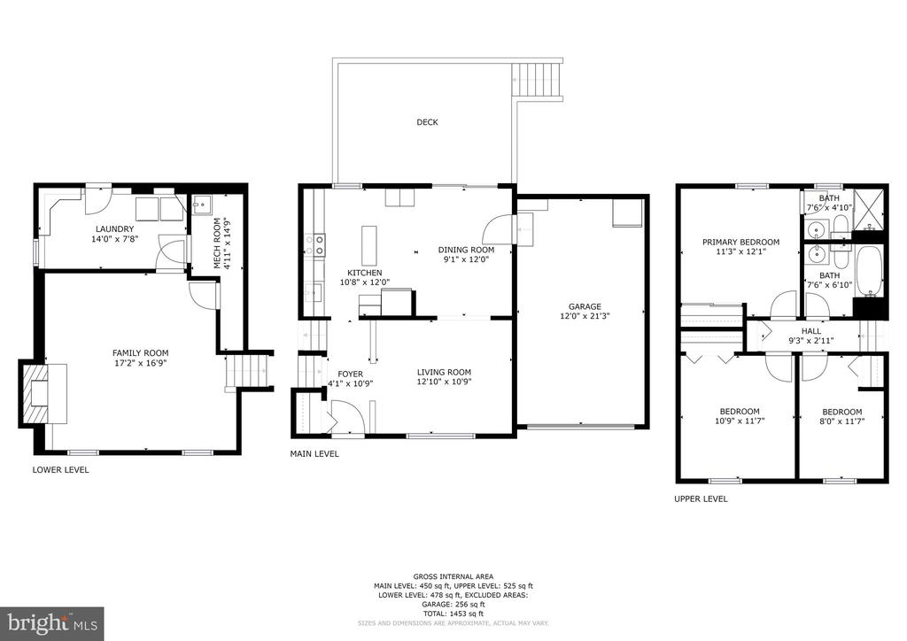 Floor plan - 10171 YORKTOWN WAY, GREAT FALLS