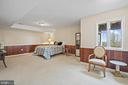 Large lower level bedroom #4 with walk out - 38853 MOUNT GILEAD RD, LEESBURG