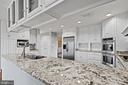 Beautiful granite counters and plenty of storage - 38853 MOUNT GILEAD RD, LEESBURG