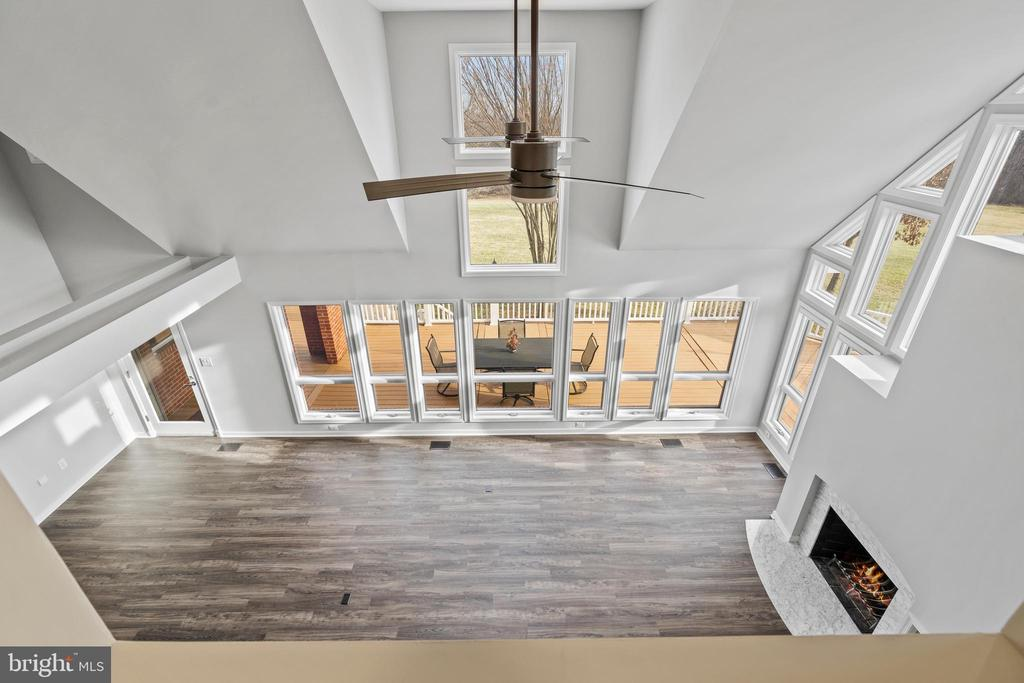 View from upper level - 38853 MOUNT GILEAD RD, LEESBURG
