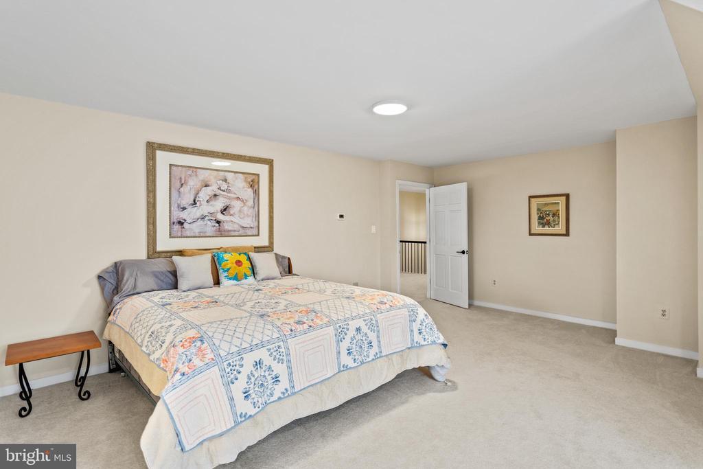 Large bedroom 3 with ensuite bath - 38853 MOUNT GILEAD RD, LEESBURG