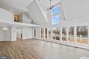 Door to expansive deck off great room - 38853 MOUNT GILEAD RD, LEESBURG