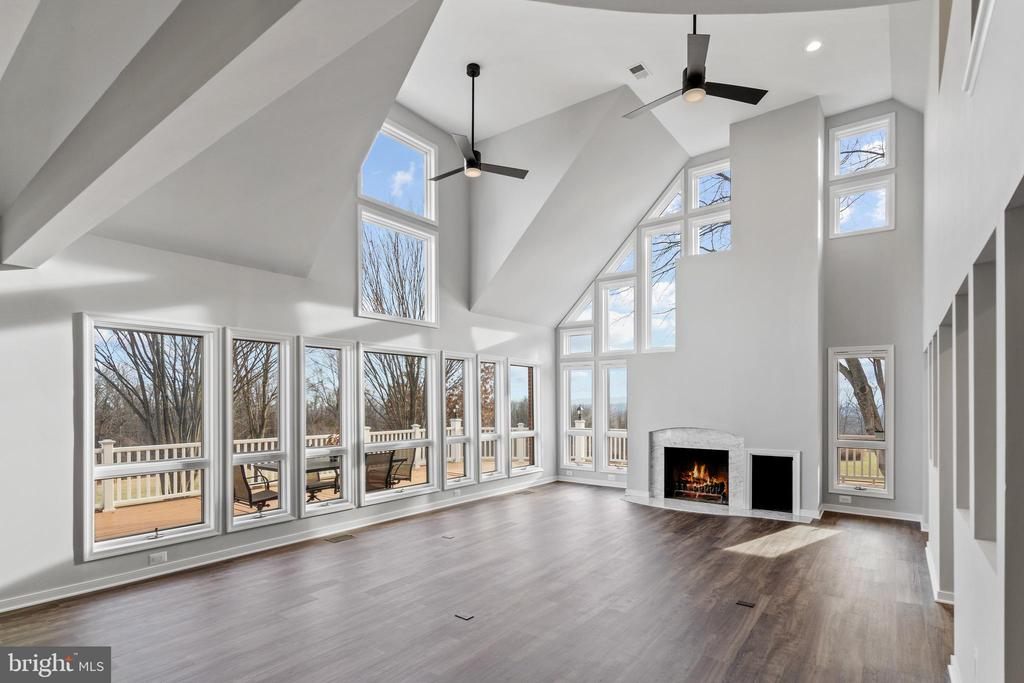 Floor to ceiling windows to take in the views! - 38853 MOUNT GILEAD RD, LEESBURG