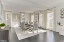 Bright and Spacious Dining Room - 2816 O ST NW, WASHINGTON
