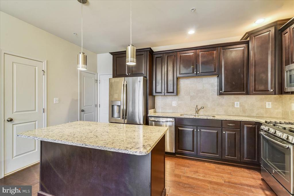 You'll love the granite counters in the kitchen - 43137 WEALDSTONE TER, ASHBURN