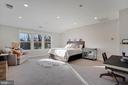 En-Suite Bedroom/Flex Space  with Adjacent Storage - 1207 ROSS DR SW, VIENNA