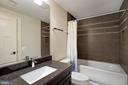 Lower Level Bath - 1207 ROSS DR SW, VIENNA