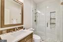 Shared Bath with designer appointments - 20449 SWAN CREEK CT, POTOMAC FALLS