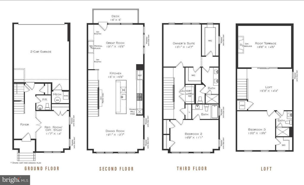 Hayden Standard Plan - 1879 EASTERLY RD #4005, RESTON