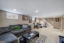 Basement / Family Room - 4821 QUARLES ST NE, WASHINGTON