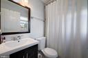Master Bath - 4821 QUARLES ST NE, WASHINGTON