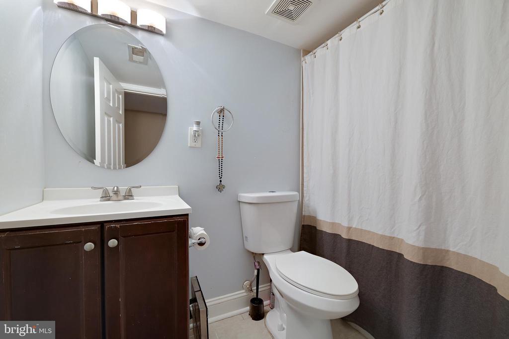 Basement Bath - 4821 QUARLES ST NE, WASHINGTON