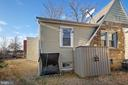 Backyard - 4821 QUARLES ST NE, WASHINGTON