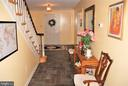 Hall to foyer - 12138 HARPERS FERRY RD, PURCELLVILLE