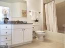 Updated full ceramic tile Bath - 3650 S GLEBE RD #464, ARLINGTON