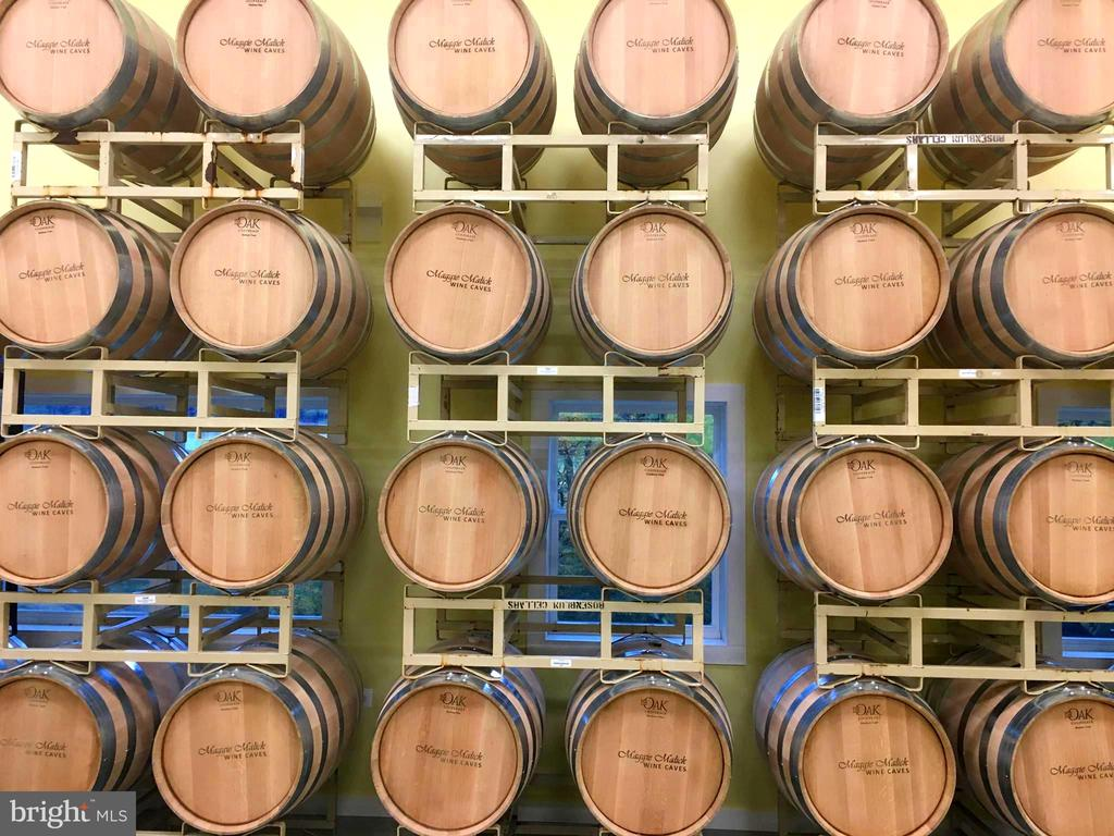 New barrels ready for filling - 12138 HARPERS FERRY RD, PURCELLVILLE