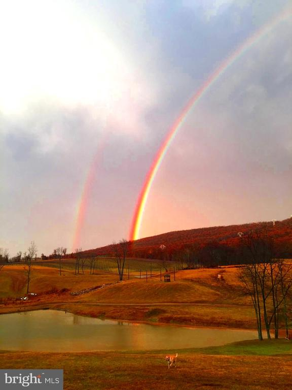 Post harvest rainbow - 12138 HARPERS FERRY RD, PURCELLVILLE