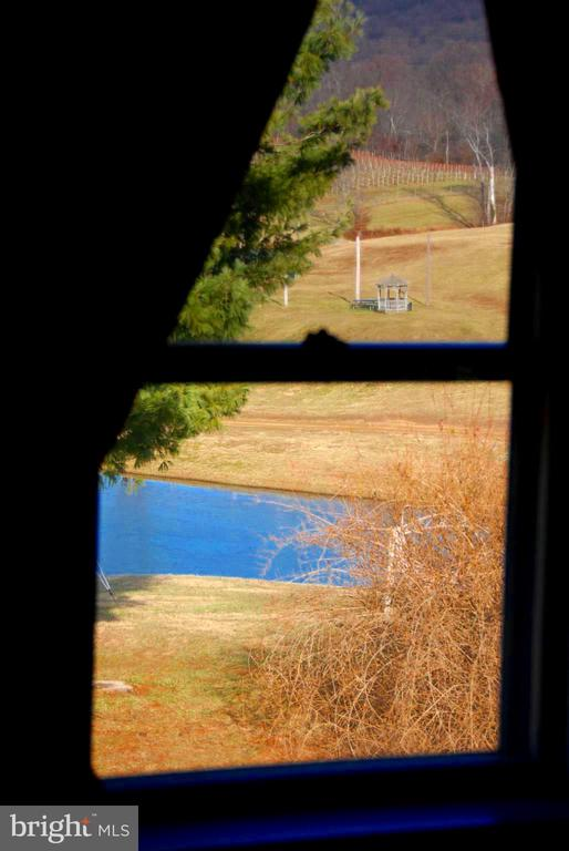 View out of the primary bedroom window - 12138 HARPERS FERRY RD, PURCELLVILLE