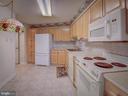 Spacious eat-in kitchen - 19385 CYPRESS RIDGE TER #1103, LEESBURG