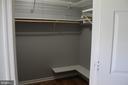 Master Bedroom closet - 8320 MORNINGSIDE DR, MANASSAS