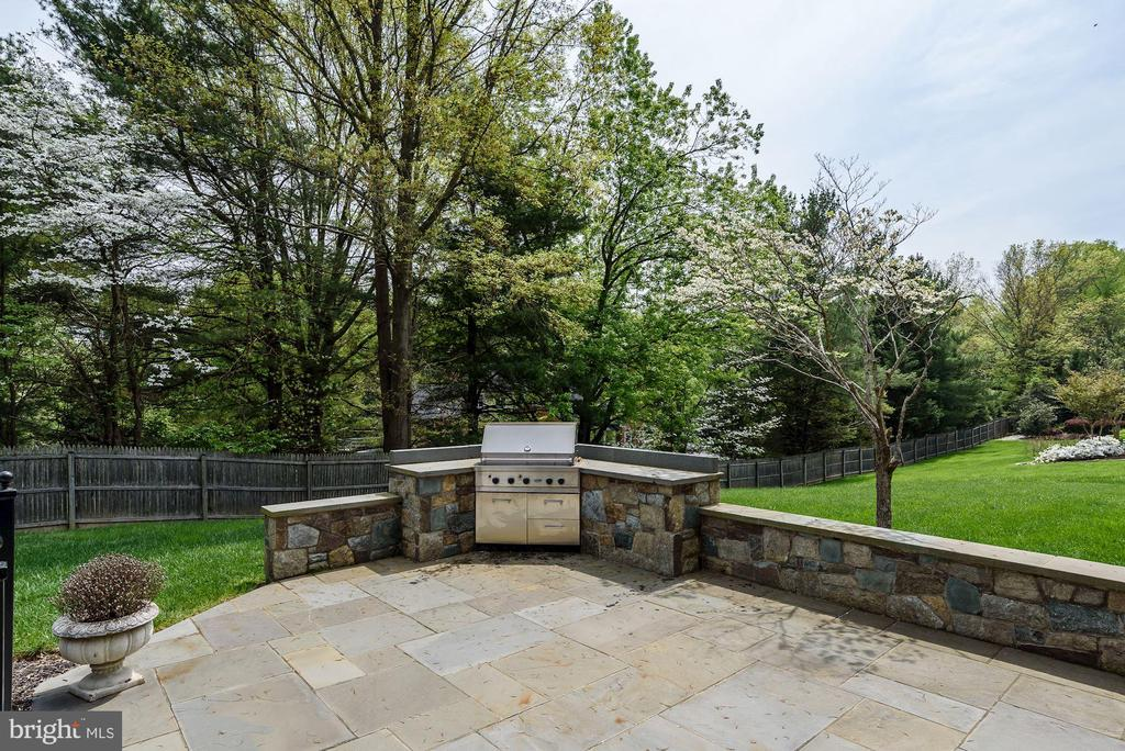 Built-in propane gas grill - 1901 ALLANWOOD PL, SILVER SPRING
