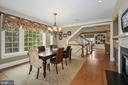 Off Kitchen ..Keeping Room, enjoy daily meals here - 1901 ALLANWOOD PL, SILVER SPRING