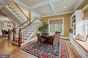 Game area w/built-ins, back stairs to U/L levels - 1901 ALLANWOOD PL, SILVER SPRING