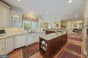 Cabinetry w/drawer pullouts,  undercounter lightin - 1901 ALLANWOOD PL, SILVER SPRING