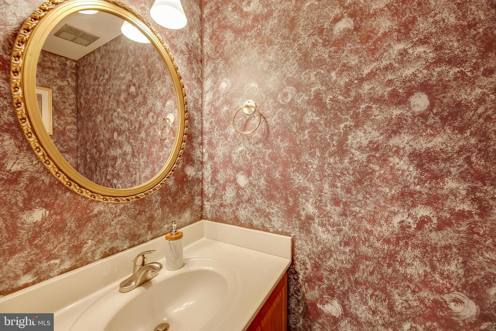 Van Gogh's Starry Night Powder Room - 7258 LIVERPOOL CT, ALEXANDRIA