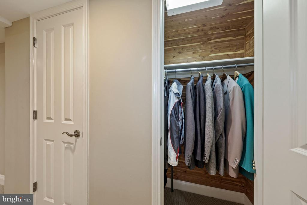 One of 2 cedar closets in Office - 1901 ALLANWOOD PL, SILVER SPRING