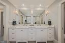 Marble counter w/2 sinks - 1901 ALLANWOOD PL, SILVER SPRING