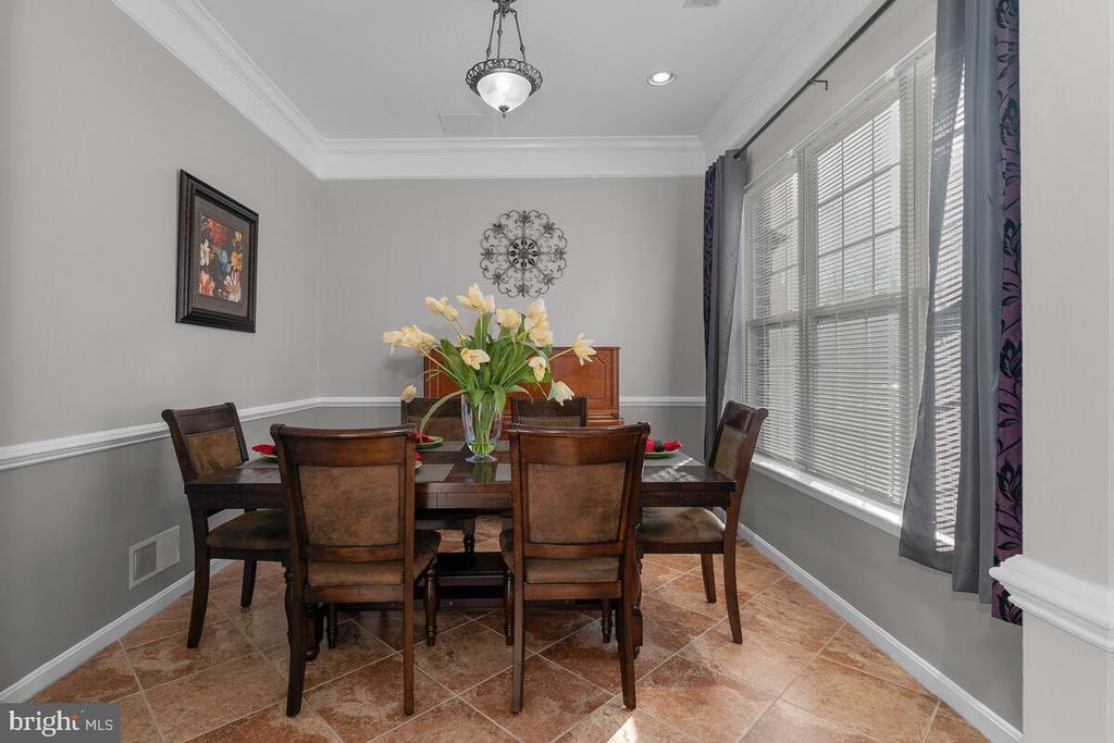 DINING ROOM - 25487 FLYNN LN, CHANTILLY