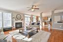 Curl up by the gas fireplace - 11322 SCOTT PETERS CT, MANASSAS