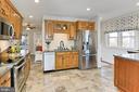 Kitchen offers plenty of storage - 9401 OX RD, LORTON