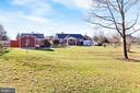 View of back of home - 9401 OX RD, LORTON