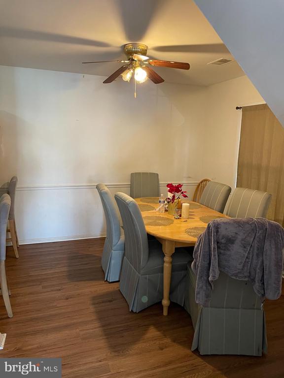 Dining room - 120 ADAMS DR NE, LEESBURG