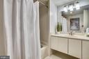 Extra wide vanity in bathroom - 2100 LEE HWY #344, ARLINGTON