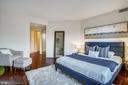 Bedroom has 3 closets - 2100 LEE HWY #344, ARLINGTON