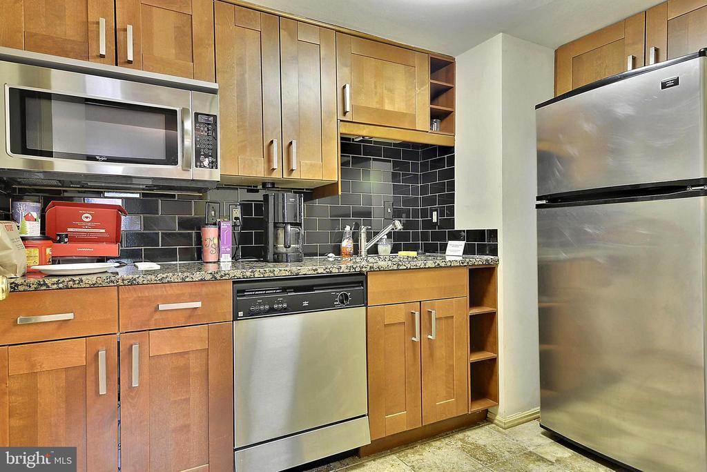 Kitchen in condominium community room - 2100 LEE HWY #344, ARLINGTON