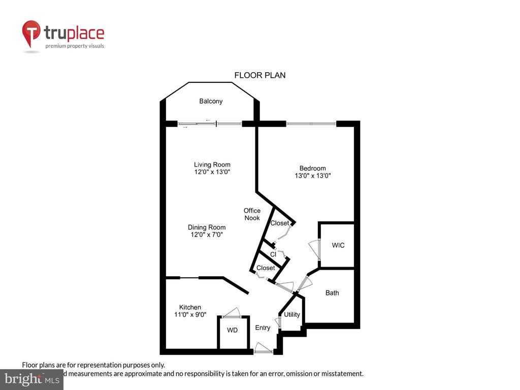Floorplan - 2100 LEE HWY #344, ARLINGTON
