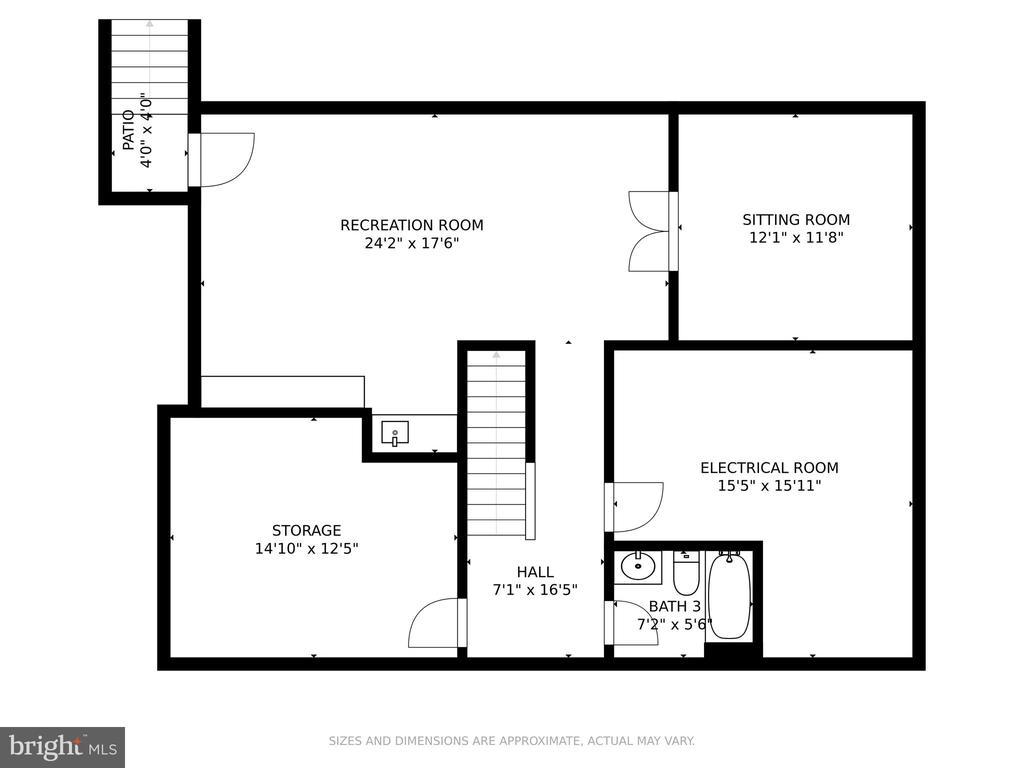 Floor Plan: Lower Level - 6482 EMPTY SONG RD, COLUMBIA