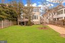 Backyard - 3510 MACOMB ST NW, WASHINGTON