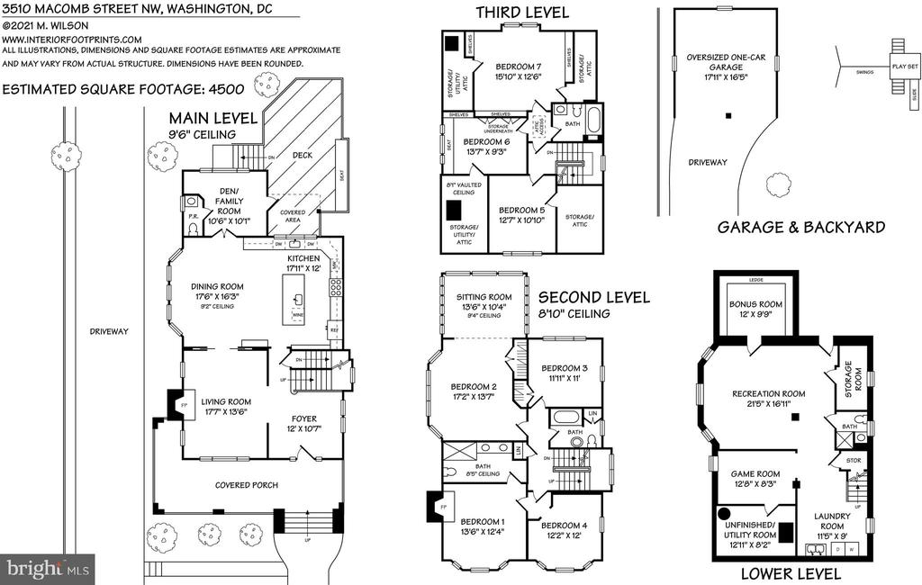 floor plan - 3510 MACOMB ST NW, WASHINGTON