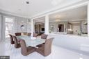 Breakfast Room - 15325 MASONWOOD DR, GAITHERSBURG