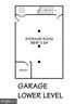 Garage - Lower Level - 15325 MASONWOOD DR, GAITHERSBURG
