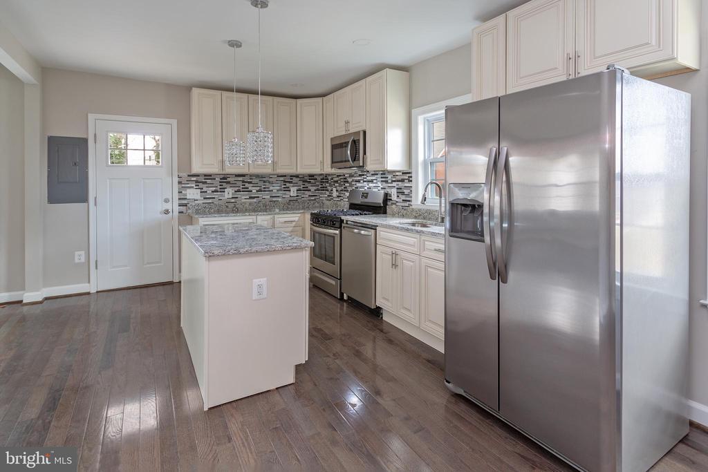 Kitchen from Dining Area - 4502 DIX ST NE, WASHINGTON
