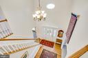 Stunning view from upstairs hall and balcony - 6102 NEW PEMBROOK LN, FREDERICKSBURG