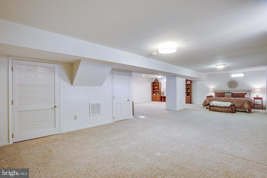 Basement offers plenty of storage, too - 6102 NEW PEMBROOK LN, FREDERICKSBURG