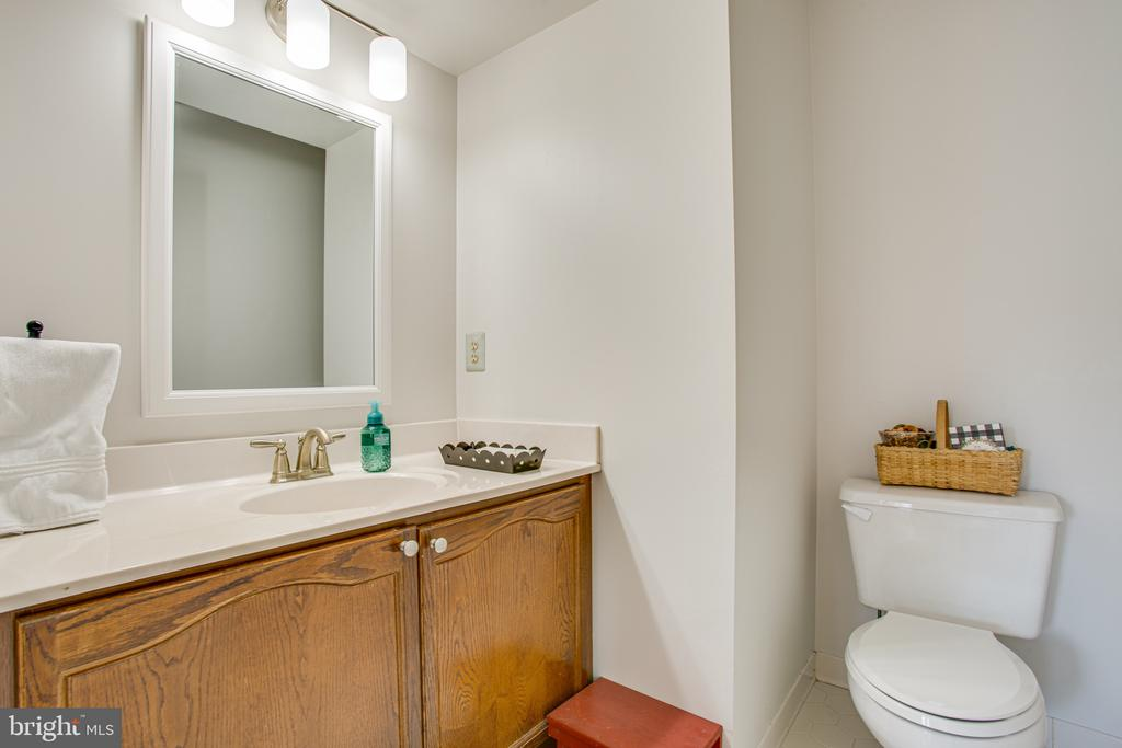 Powder Room on main level - 6102 NEW PEMBROOK LN, FREDERICKSBURG